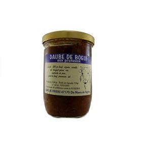 Image de Daude de boeuf aux pruneaux 750g