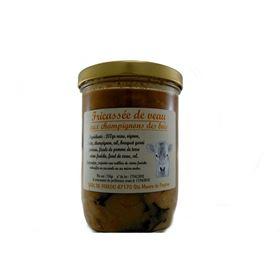 Image de Fricassé de veau aux champignons des bois 750g