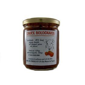 Image de Sauce bolognaise 570g
