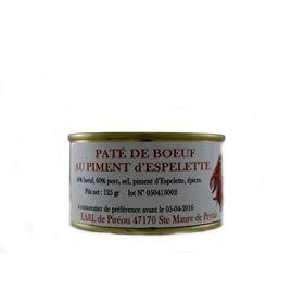 Image de Paté au piment d'Espelette  125g