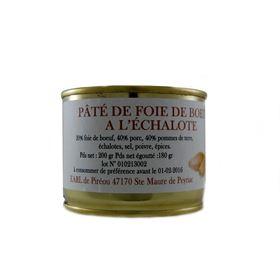 Image de Paté de foie de boeuf  échalote 200g