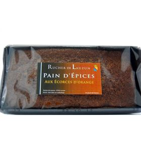 Image de Pain d'épices écorces orange  225gr